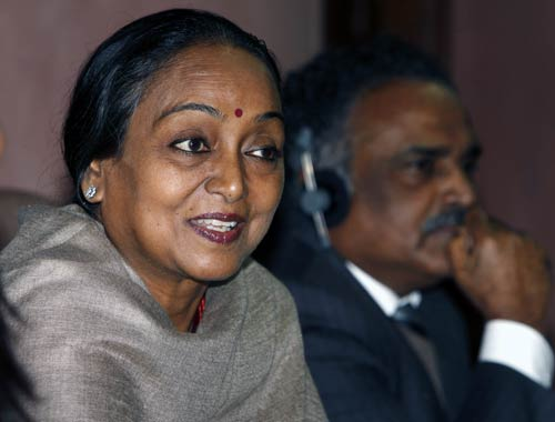 Meira Kumar Photo courtesy: Sipra Das/India Today