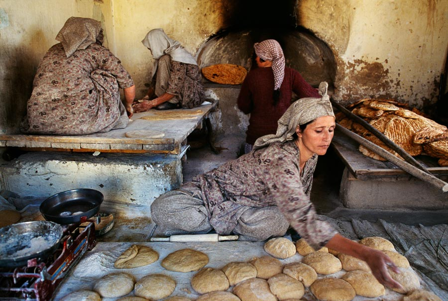 Bakery run by Afghan widows, Kabul, Afghanistan