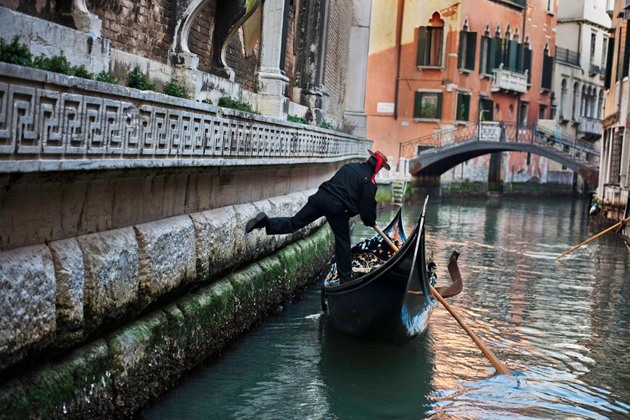 Venice, Italy. Nothing in the world that you ever heard of Venice, ...